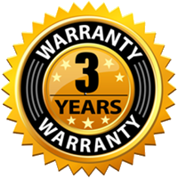 Chain Homes 3 year warranty